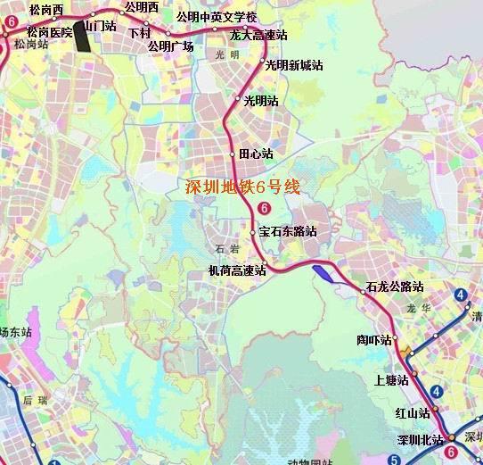 深圳公明楼村小产权三房110平米58万,户型方正实用 三房二厅 第2张